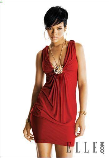 rihanna photoshoot pour elle juin 2008