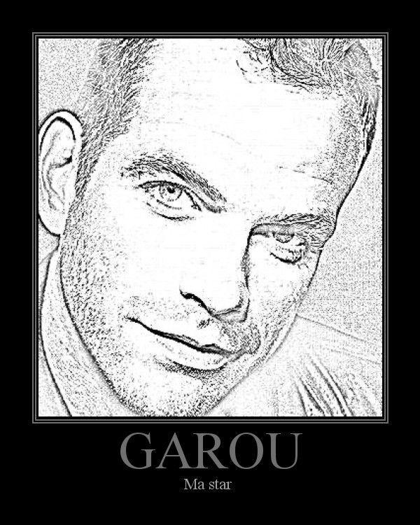 Créa du jour Garou